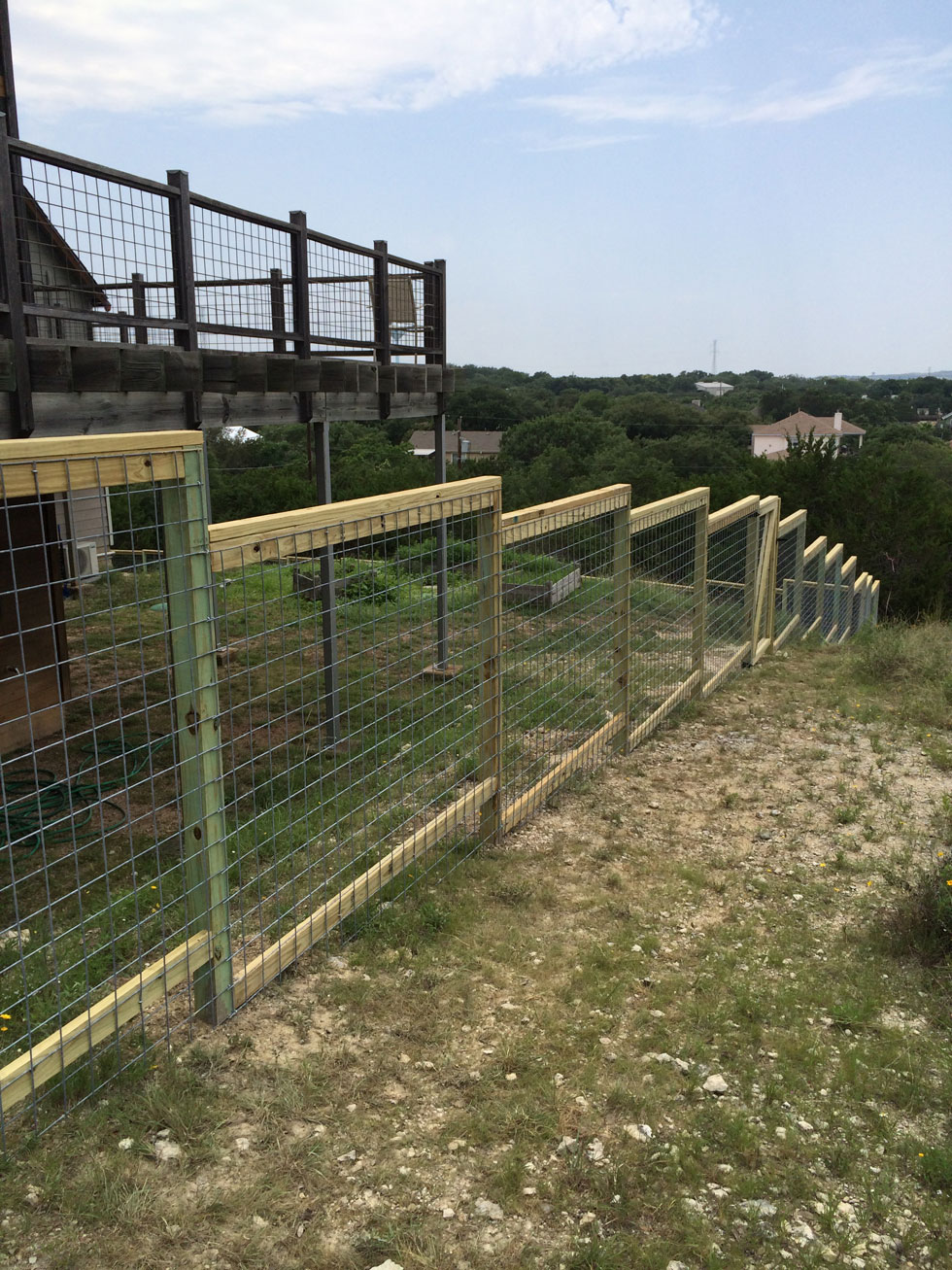 Decorative Cattle Panel B C Fence