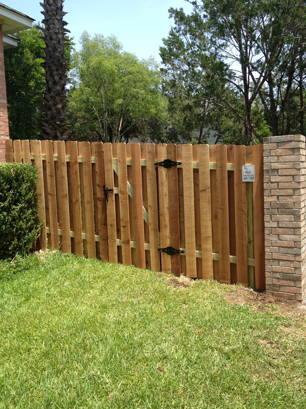 Residential Fencing Services In Austin Tx B C Fence