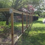 Decorative Cattle Panel Fence Installation B C Fence