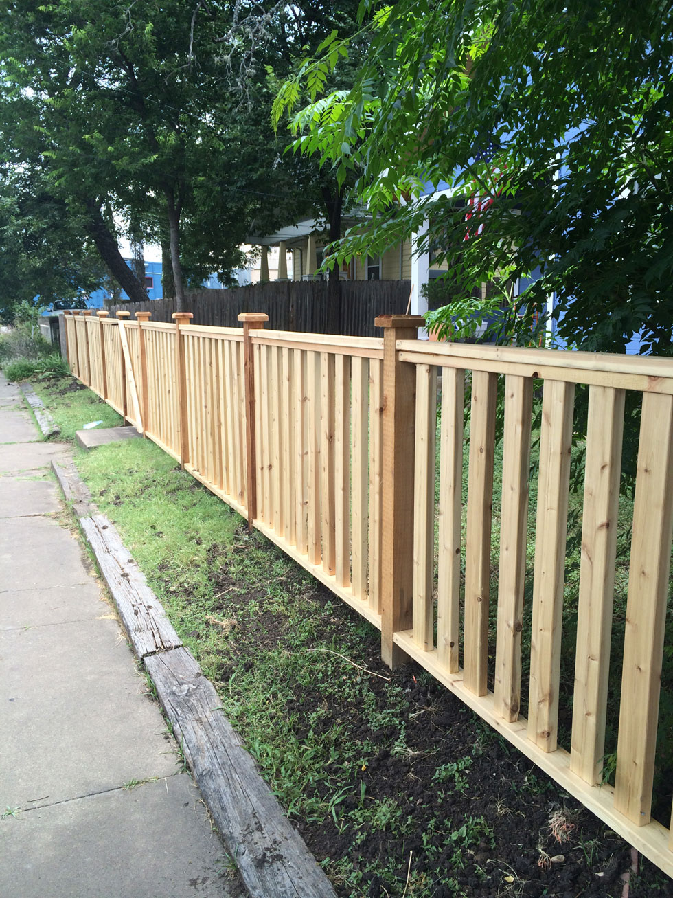 Residential Fencing Austin Tx Bc Fence